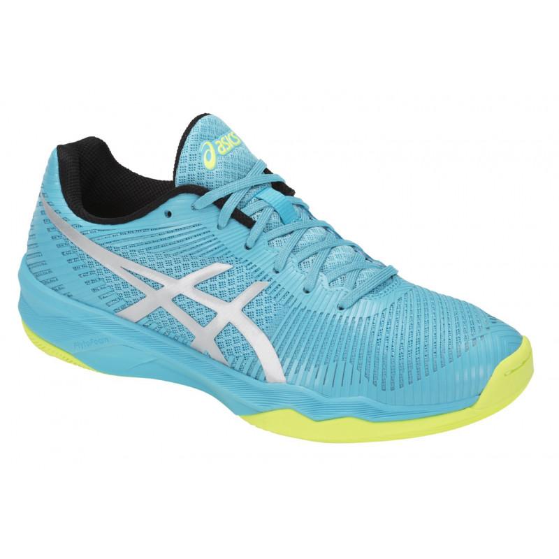 Asics Chaussures Gel Elite Time Femmes Ciel Volley Sport luJFcK13T