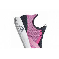 Chaussures tennis adidas Defiant Bounce Femme roses Sport time