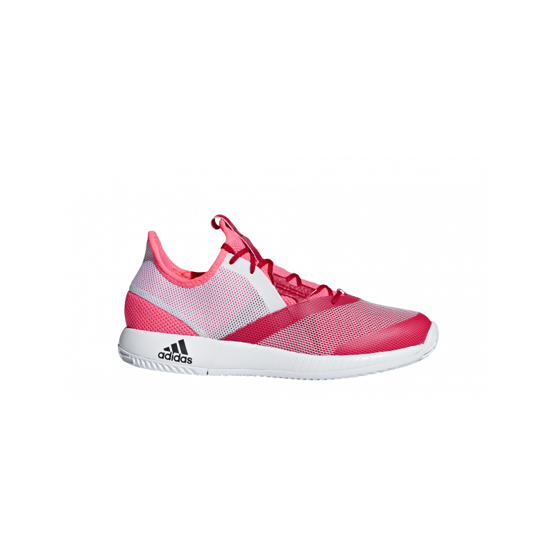 Chaussures tennis adidas Defiant Bounce Femme rouges Sport-time