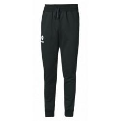 Pantalon Hummel Fit UH molton noir/blanc