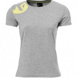 Tee-shirt Kempa Caution gris femmes