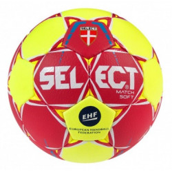 Ballon handball Select Match Soft rouge