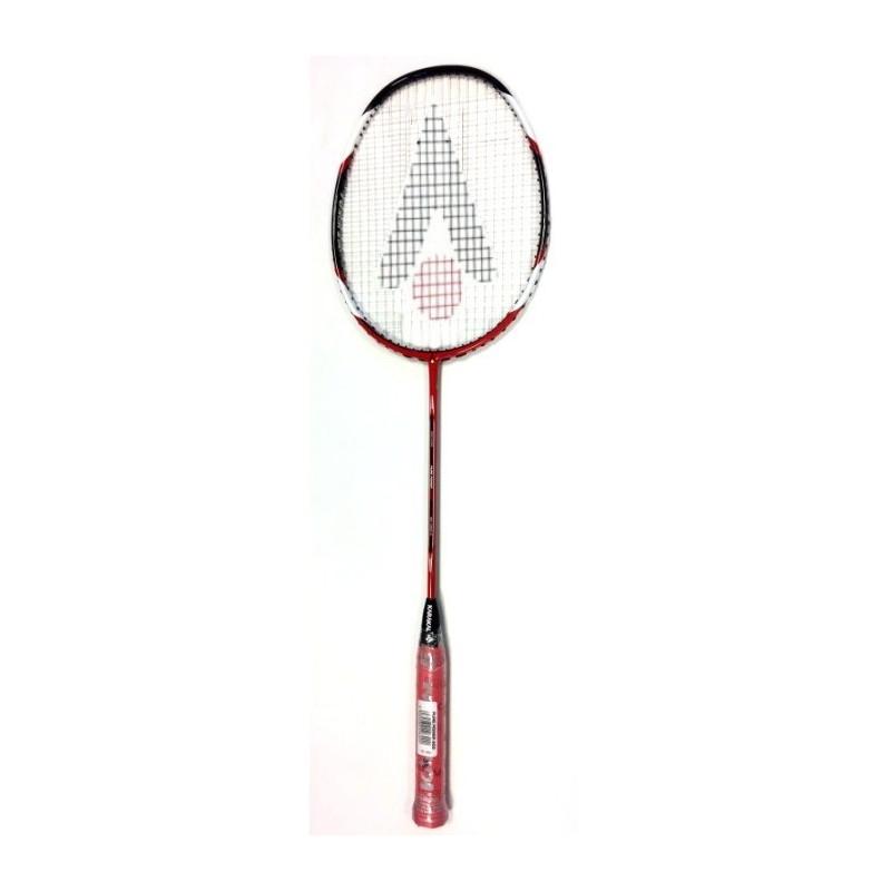 6cf80088b19bb Raquette Badminton Karakal Pure Power 200 : Une raquette de compétition  avec un shaft rigide et un poids légèrement en tête.