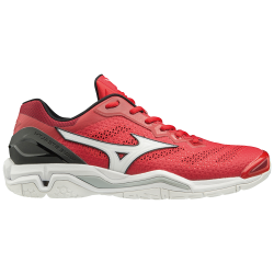 Chaussures Mizuno Wave Stealth 5 rouges