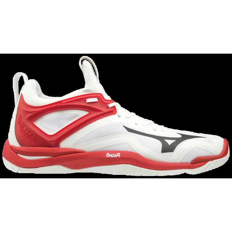 Chaussures Handball Mizuno Wave Mirage 3 blanches Sport time