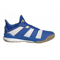 Chaussures Adidas Stabil X bleues