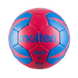 Ballon Handball Molten HX 1800 bleu/rose