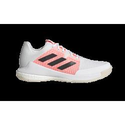 Chaussures Adidas Crazyflight blanches