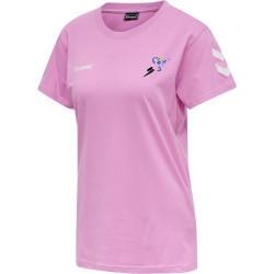 Tee-shirt Femme Hummel Saint-Martin...