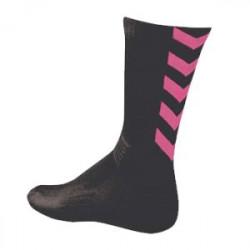 Chaussettes Handball Hummel noires/roses