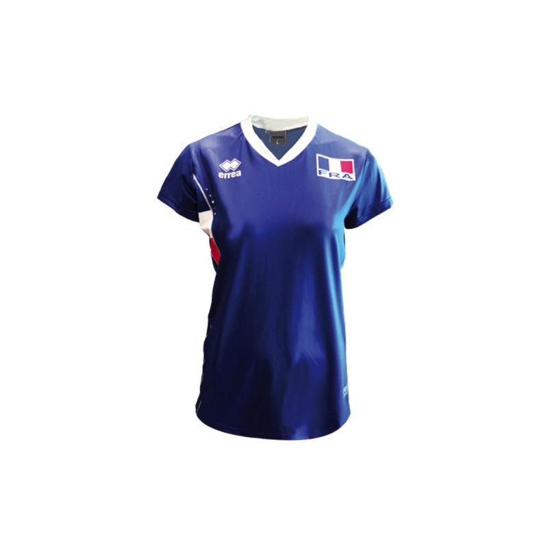 Maillot de l'équipe de France de volley ball femmes Sport time