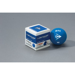 Balle Squash Dunlop bleu